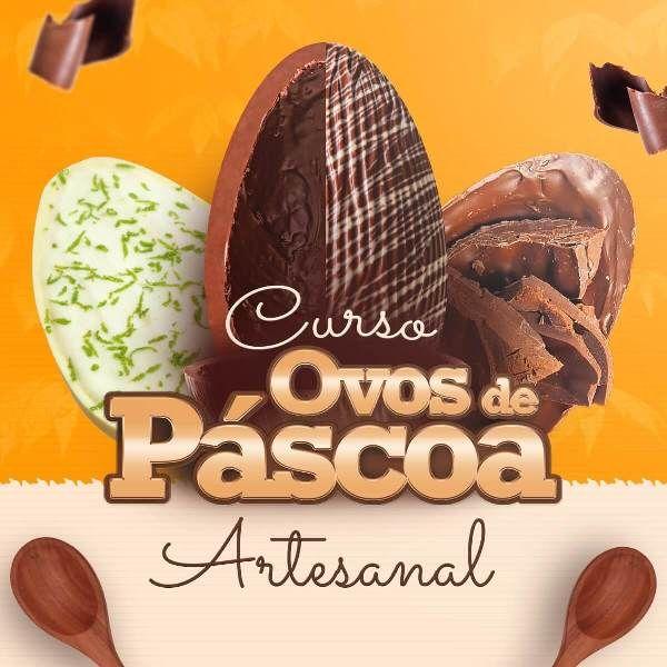 Curso Ovos de Páscoa Artesanal