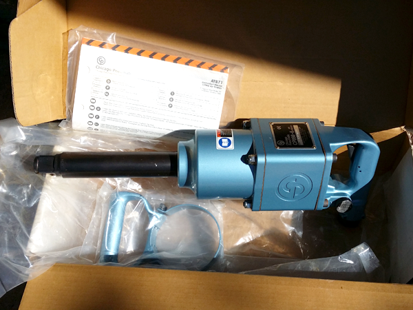 "New in Box - Chicago Pneumatic 1"" Inch Air Impact Wrench 
