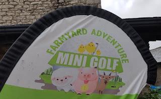 Farmyard Adventure Mini Golf at Greenlands Farm Village in Tewitfield, Carnforth