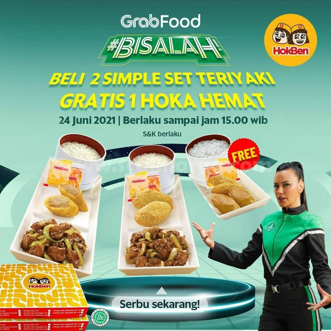 HOKBEN Promo Gratis Hoka Hemat Bareng GRABFOOD