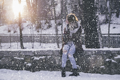 Tạo hiệu tuyết rơi bằng photoshop