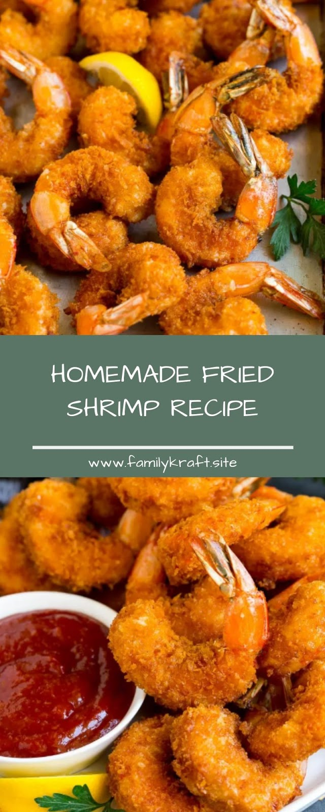 HOMEMADE FRIED SHRIMP RECIPE