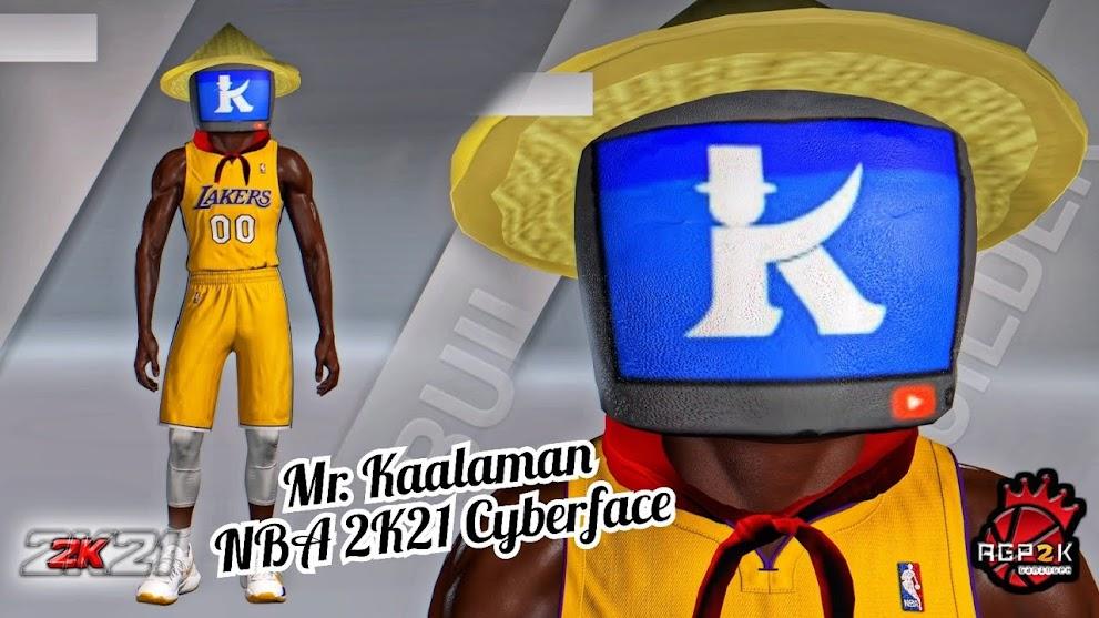 NBA 2K21 Mr. Kaalaman Cyberface [100% FREE] by AGP2K GAMING PH