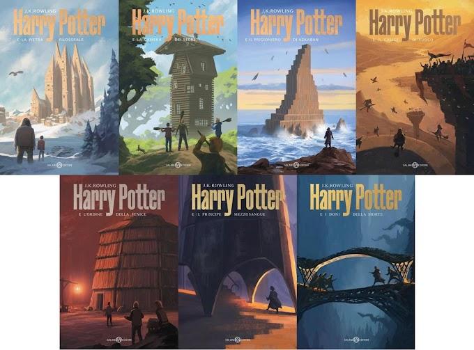 Harry Potter incontra l'eccellenza di Michele De Lucchi nelle nuove edizioni Salani