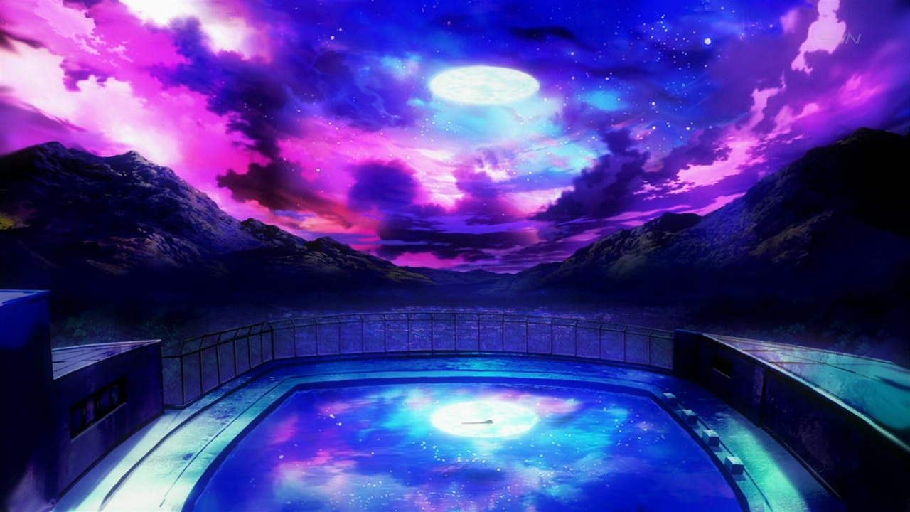 Anime Night Sky: A World Beyond The Skies…