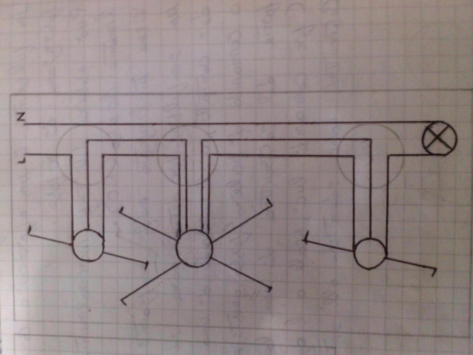 Schema Elettrico : Schema elettrico lampadario con ventilatore