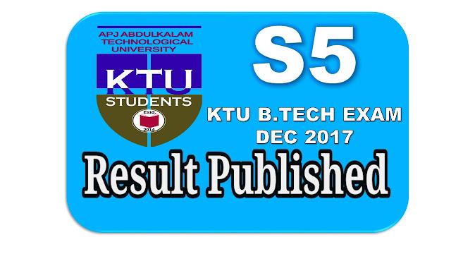 s5 ktu result 2018