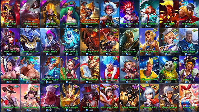 Hereu0027s Got a FREE Legend SKIN! in Mobile Legends Easily Without