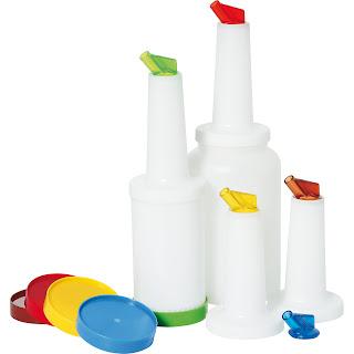 Sticle din Plastic pentru Depozitare, Amestecare, Mixare a Bauturilor, Accesorii Bar, Produse Profesionale Horeca, Preturi
