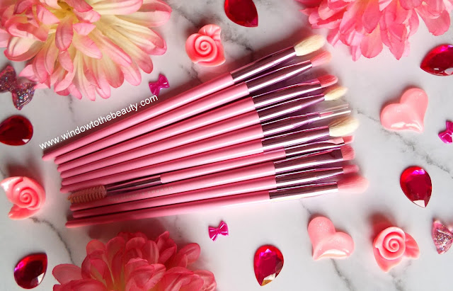 morphe The Jeffree Star Eye Brush Collection