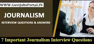 Interview in Journalism