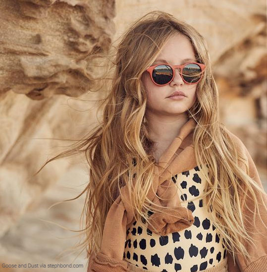 Sustainable sunglasses for kids