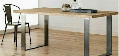 set meja makan cafe klasik