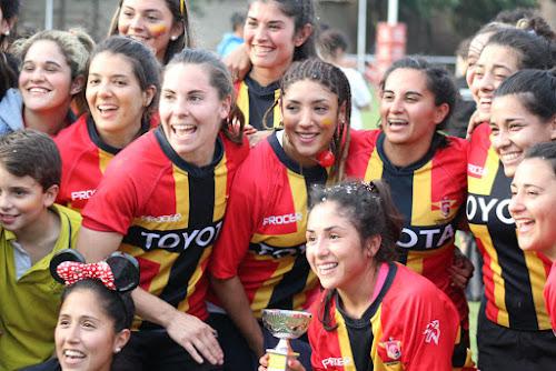 Cardenales gritó campeón en el Iniciación Femenino