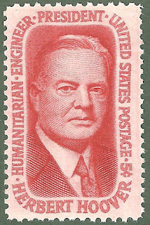 Herbert Hoover US Postage Single