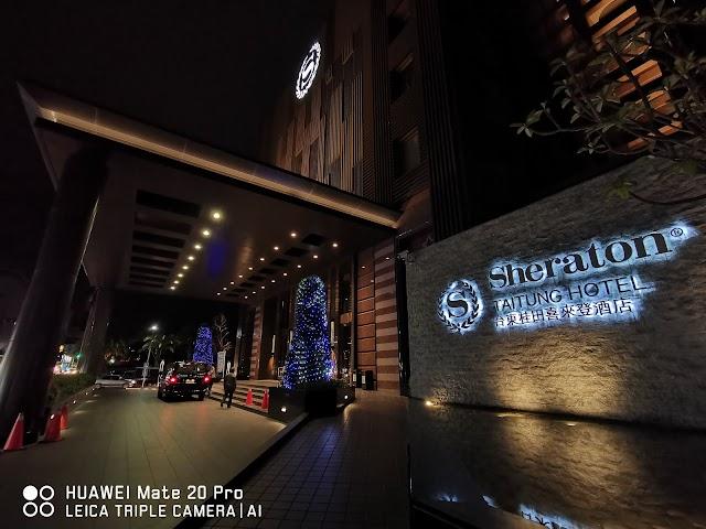 五星級體驗:Huawei Mate 20 Pro x 台東桂田喜來登酒店