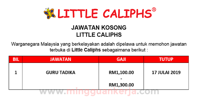 Guru Tadika - Little Caliphs