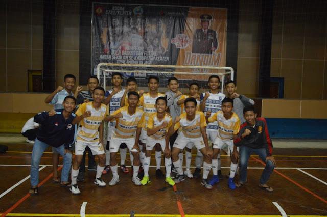 SMP N 1 Klaten Jawara Futsal Dandim Cup IV TA 2019