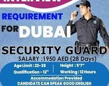 Security Guard and Watchman Jobs Recruitment in Dubai