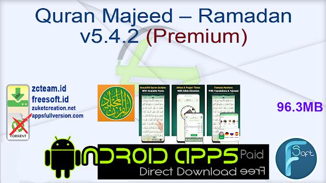 Quran Majeed – Ramadan القرآن المجيد v5.4.2 (Premium)