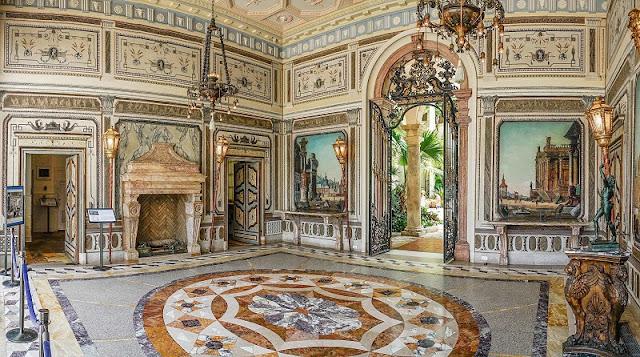 Histórico da Villa Vizcaya Museum and Gardens em Miami