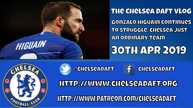 Gonzalo Higuain continues to struggle | Chelsea are just an ordinary team.