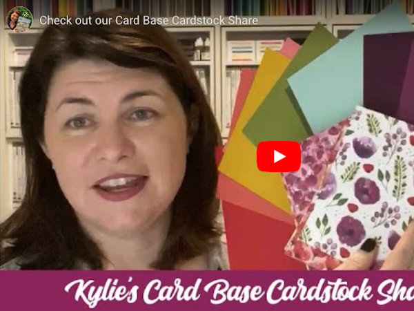 LAST CHANCE to sign up for our Card Base Cardstock Share