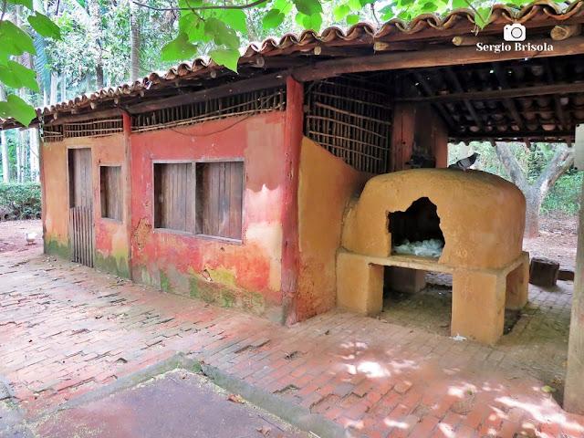 Vista ampla da Casa do Caboclo - Parque da Água Branca - São Paulo