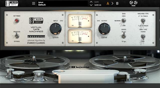 Interface do Plugin Slate Digital - Virtual Tape Machines 1.1.17.2