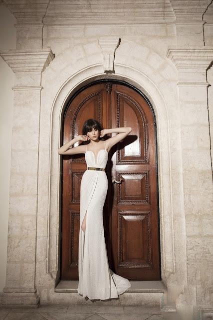 vestidos de novia sencillos con tirantes