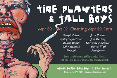 Tire Planters and Tall Boys flier