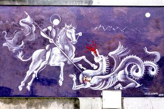 Street Art : Promenade sur les pas de Jérôme Mesnager - L'homme blanc à Belleville et Ménilmontant - Paris 20 / Paris 19