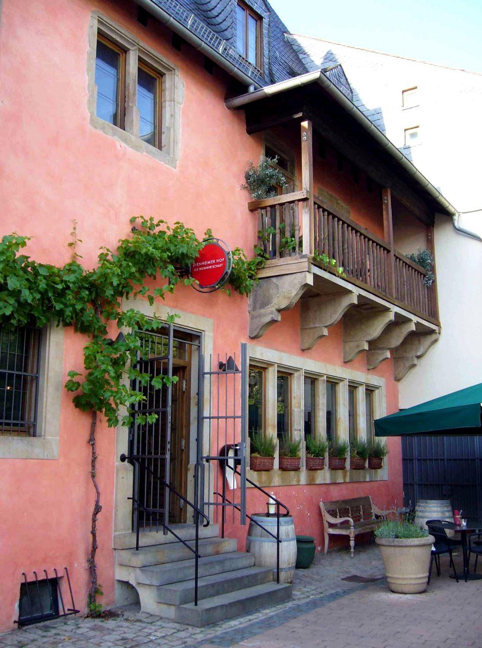Der im 16. Jahrhundert erbaute Dienheimer Hof in Bad Kreuznach.
