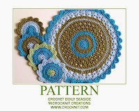 how to crochet, doily, placemats, table settings, free crochet patterns,