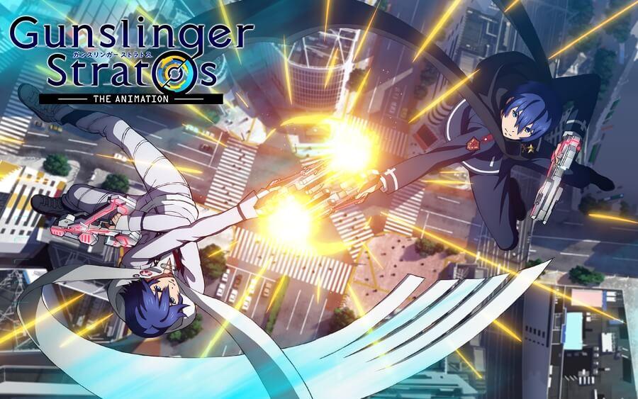 Gunslinger Stratos: The Animation Sub Indo : Episode 1-12 END