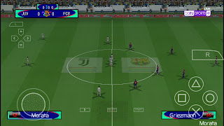 [500MB] PES 2021 PPSSPP Camera PS4 Android Offline New update and better graphics