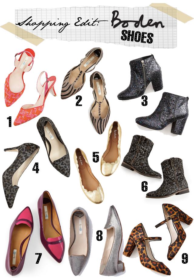Boden shoes
