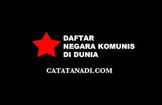 Daftar negara komunis di dunia saat ini