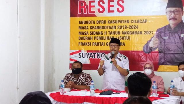 Reses, Suyatno Serap Aspirasi dan Bagi-bagi Sembako