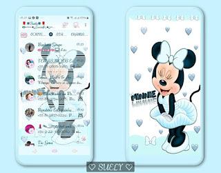 Minnie Theme For YOWhatsApp & Ra WhatsApp By Suely