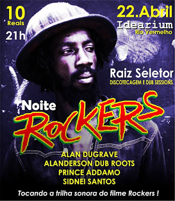 Noite Rockers no Idearium