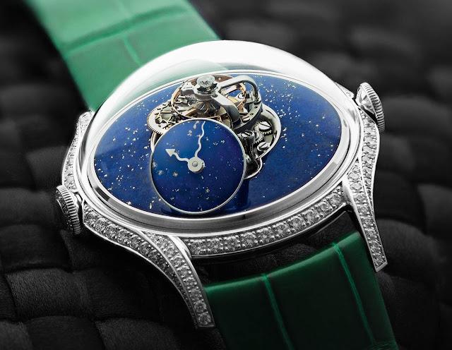 MB&F Legacy Machine FlyingT Lapis Lazuli
