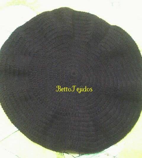 Boina vasca crochet