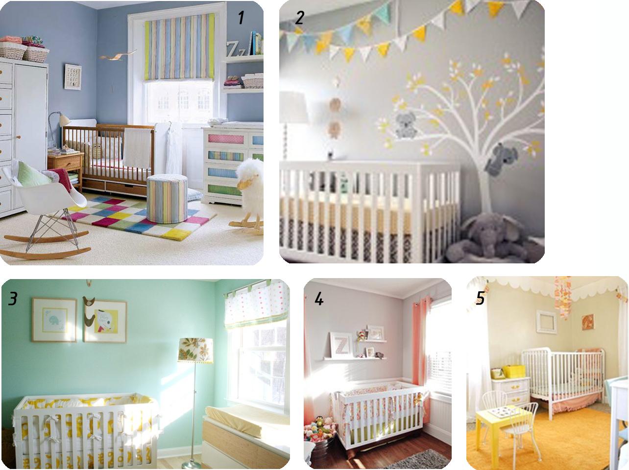 Colori pareti per camerette - Pareti camera bambini ...