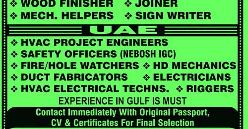 Offshore jobs in UAE | 3 Months on 1 Month Off | Yogi