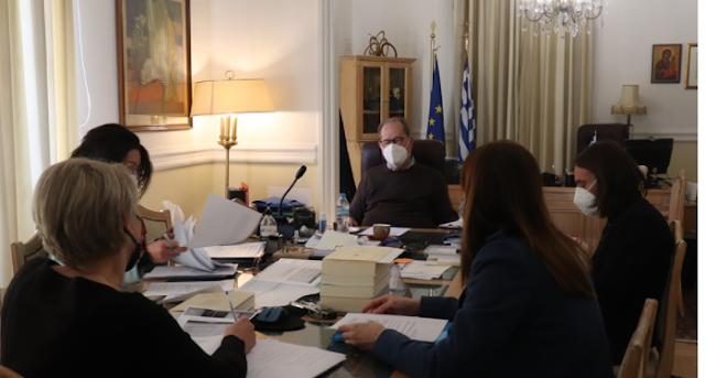 Ευρεία σύσκεψη για θέματα τουρισμού υπό τον περιφερειάρχη Πελοποννήσου