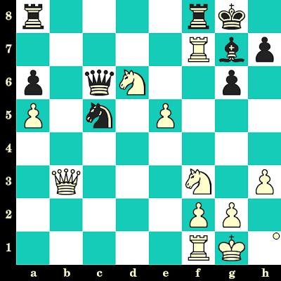 Les Blancs jouent et matent en 2 coups - Sergei Zhigalko vs Boguslaw Major, Varsovie, 2006