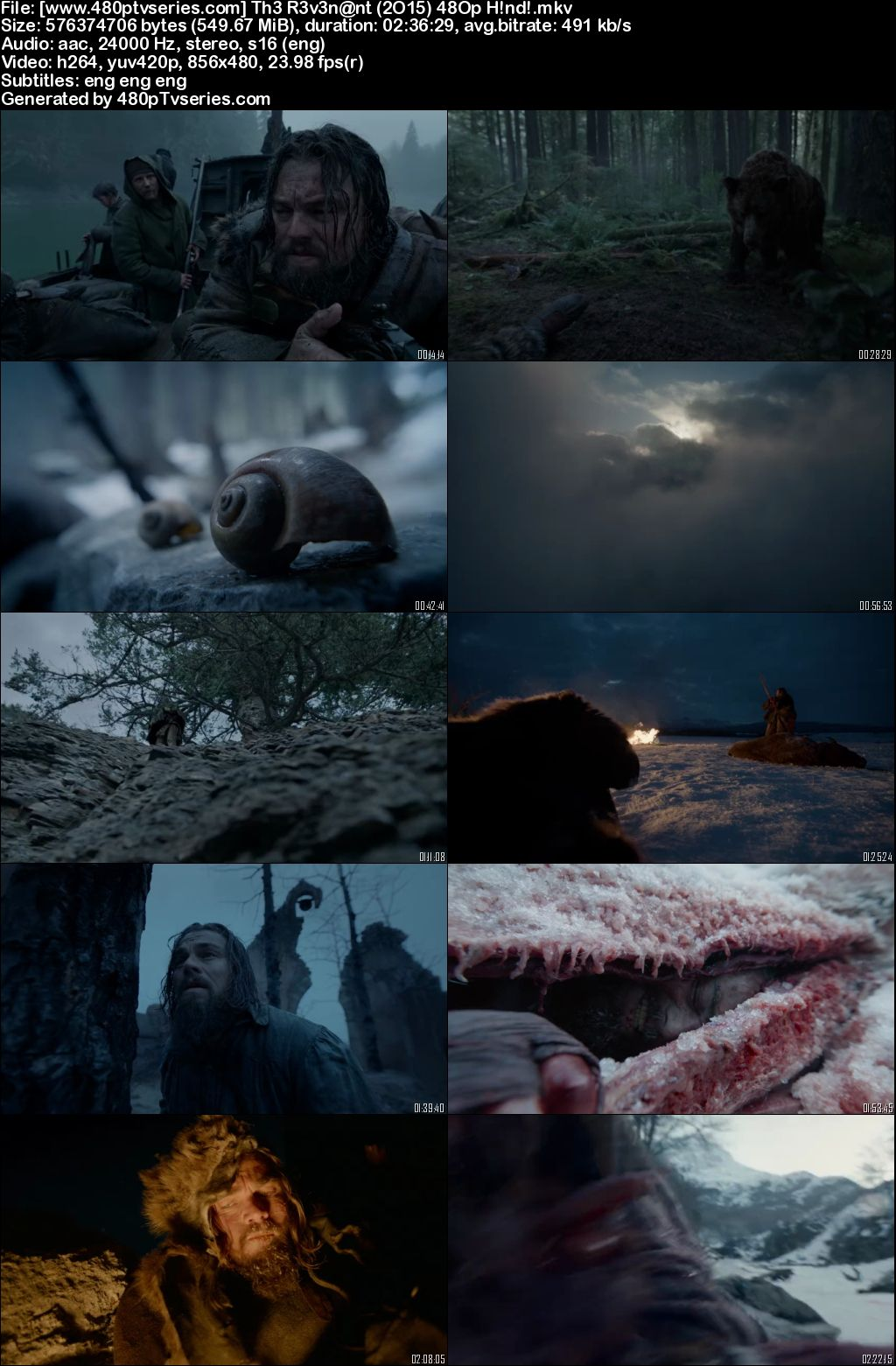 The Revenant (2015) 500MB Full Hindi Dual Audio Movie Download 480p Bluray Free Watch Online Full Movie Download Worldfree4u 9xmovies