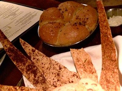 Bread basket Harry's Cancun