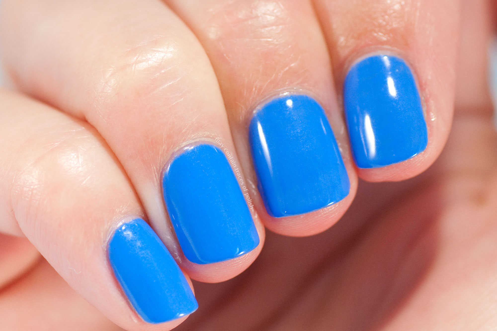 Pink Gellac 301 Azure Blue - Island Wave Collection